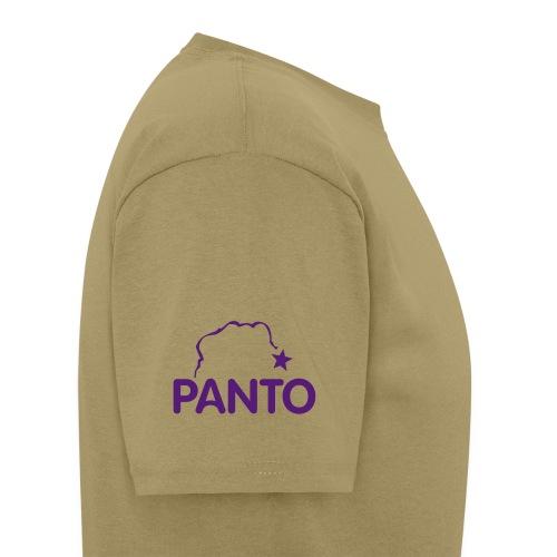 panto stencil smallest - Men's T-Shirt