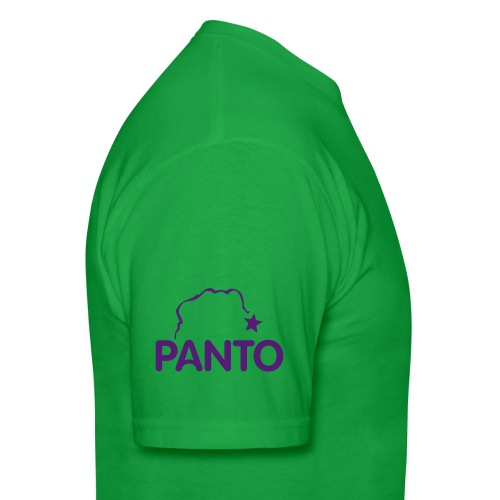 panto stencil smallest - Men's T-Shirt