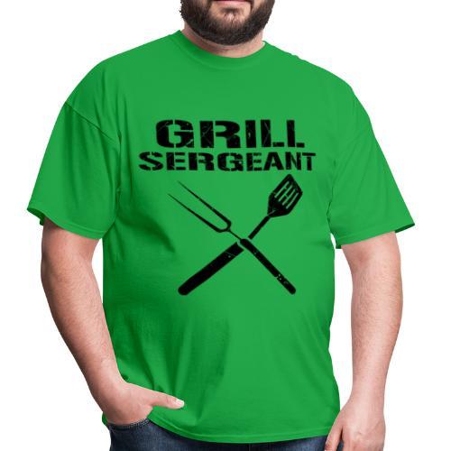 Trend Grill Sergeant Shirt - Men's T-Shirt