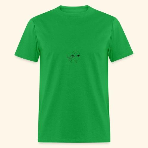 JFA Smoking alien - Men's T-Shirt