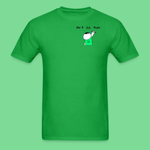 'Art is fun Corner T-Shirt - Men's T-Shirt