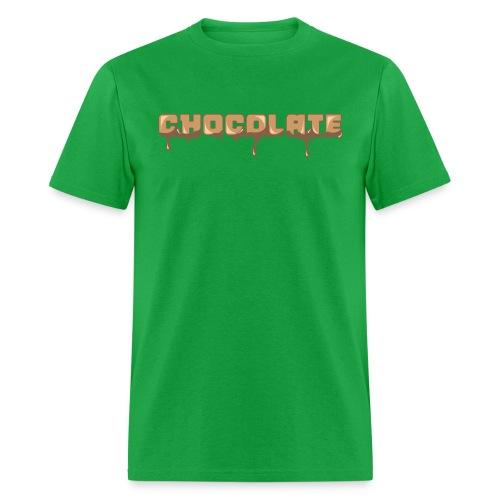 Chocolate Horizontal Font - Men's T-Shirt