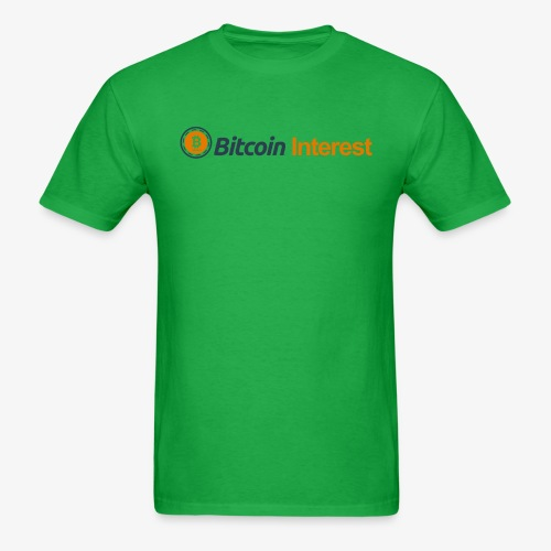 BitcoinInterest - Men's T-Shirt
