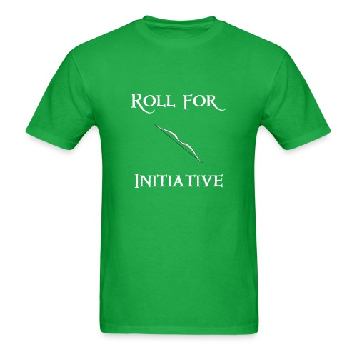 Roll For Initiative - Bow - Men's T-Shirt