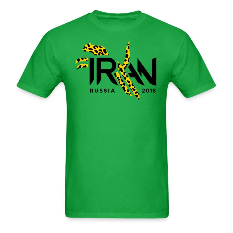 Pouncing Cheetah Iran supporters shirt - Men's T-Shirt