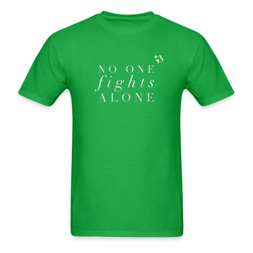 No one fights alone - Men's T-Shirt