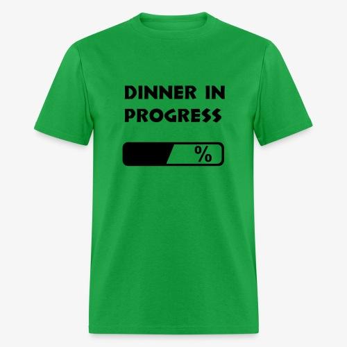 Dinner in progress - Men's T-Shirt