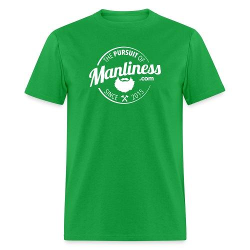 PoM Logo Round - Men's T-Shirt