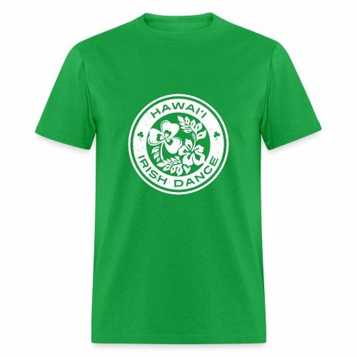 Hawaii Irish Dance Logo Distressed - Men's T-Shirt