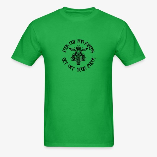 LOOK OUT FOR BIKERS - Men's T-Shirt