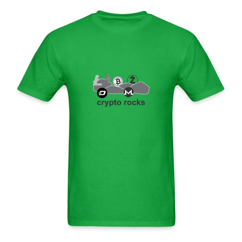 cryptorocks t-shirt - Men's T-Shirt