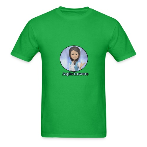 Introducing Aspie Answers - Men's T-Shirt