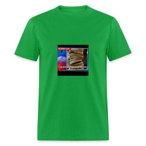 Breaking News Live Burger Challenge Master - Men's T-Shirt