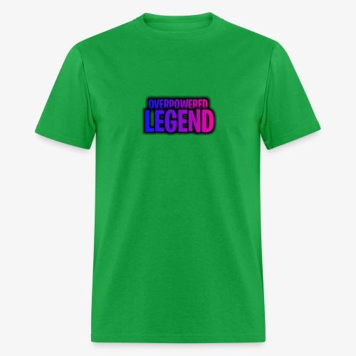 OverPoweredLegend: Purple Gradient - Men's T-Shirt