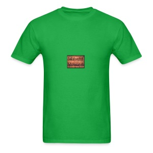 Midwest Monsters Wood Logo - Men's T-Shirt