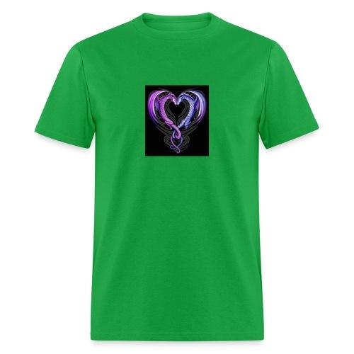dragons love/ jigsaw master35 - Men's T-Shirt