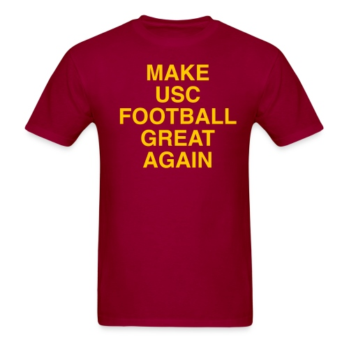 Make USC Football Great Again - Men's T-Shirt