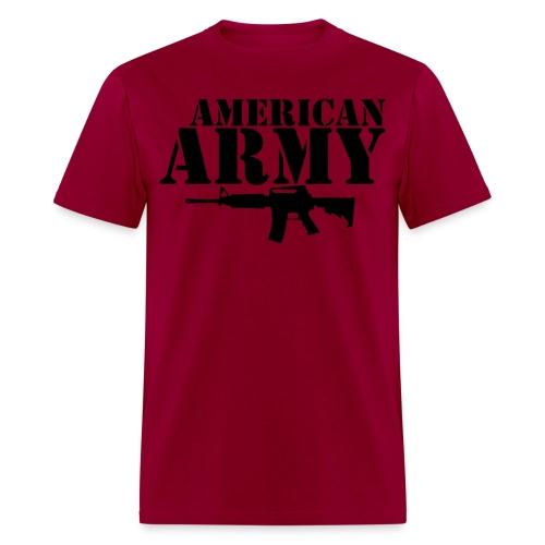 AMERICAN ARMY BLACK - Men's T-Shirt