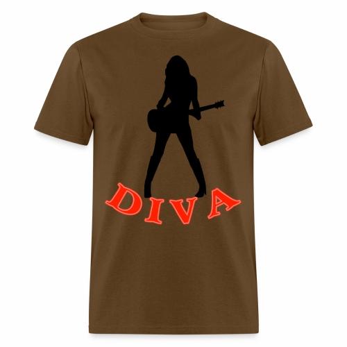 Rock Star Diva - Men's T-Shirt