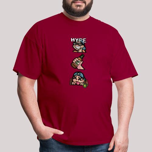 Stages of a Bogan - Men's T-Shirt