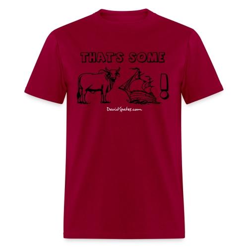 bullship outline text - Men's T-Shirt