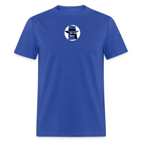Robot Gangster Shadow - Men's T-Shirt