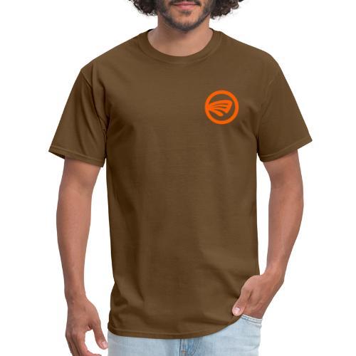 LuckyFin Orange - Men's T-Shirt