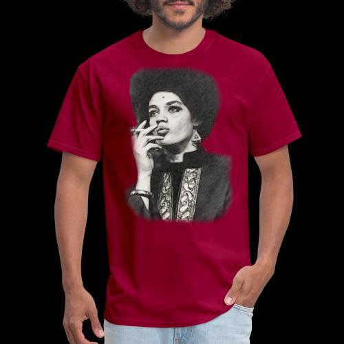 Lady Panther Smoking - Men's T-Shirt