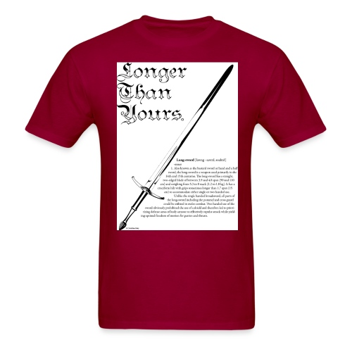 long_sword_design - Men's T-Shirt