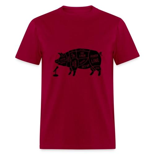 Black Pig - Men's T-Shirt
