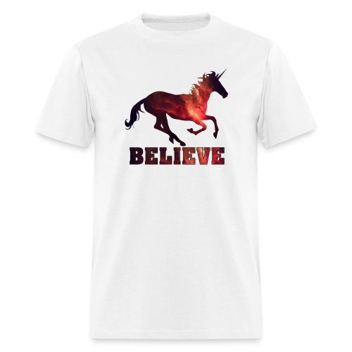 Believe Unicorn Universe 8 - Men's T-Shirt