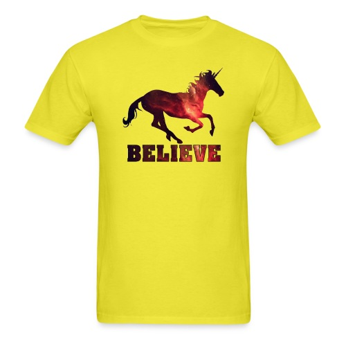 Believe Unicorn Universe 8 - Men's T-Shirt