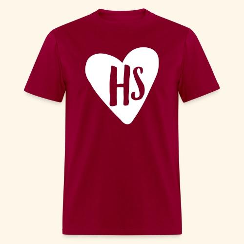 HS Heart - Men's T-Shirt