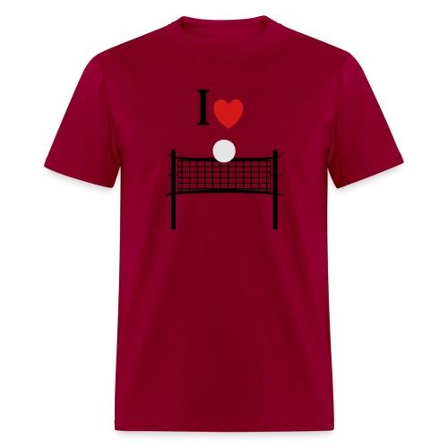 I Love Volleyball - Men's T-Shirt