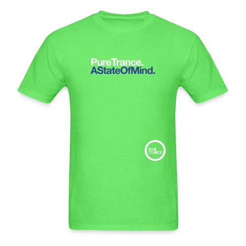Pure Trance A State Of Mind - Men's T-Shirt