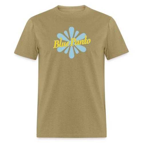 blue panto tshirt logo - Men's T-Shirt