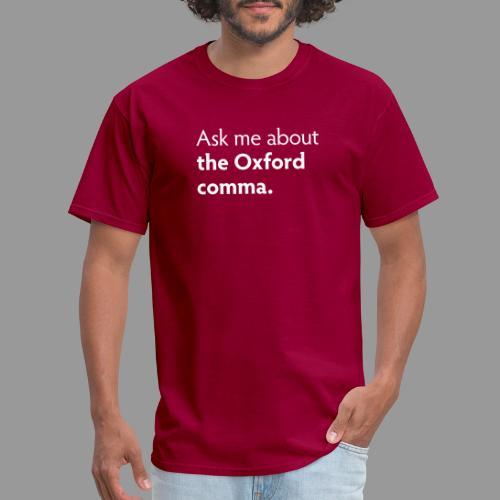 The Oxford comma - Men's T-Shirt