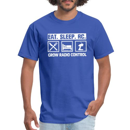 Eat Sleep RC - Grow Radio Control - Men's T-Shirt