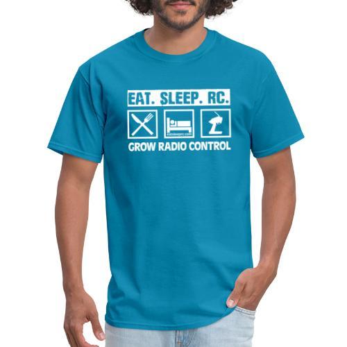 Eat Sleep RC - Grow Radio Control - Men's T-Shirt