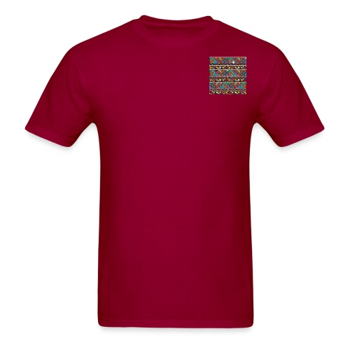 Afrikanische Ethno Fliesen - Men's T-Shirt