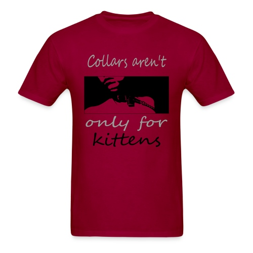 collard kitten - Men's T-Shirt