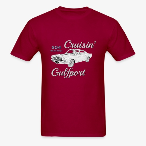 Cruisin Gulfport Mustang - Men's T-Shirt