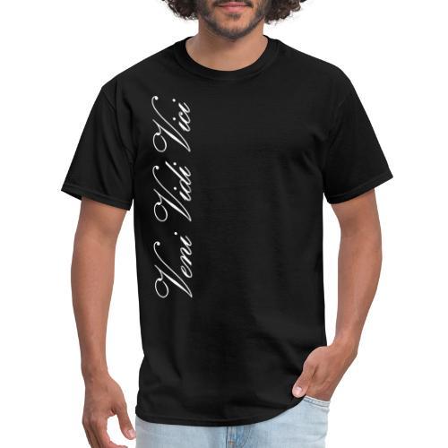 Zyzz Veni Vidi Vici Calli text - Men's T-Shirt