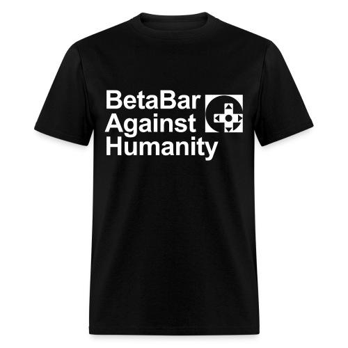 Beta Bar Against Humanity - Men's T-Shirt