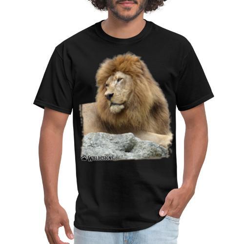 Lion Cutout - Men's T-Shirt