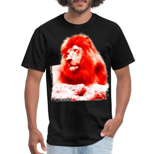 Lion Cutout Red - Men's T-Shirt