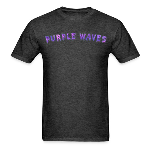 Purple Waves - Men's T-Shirt