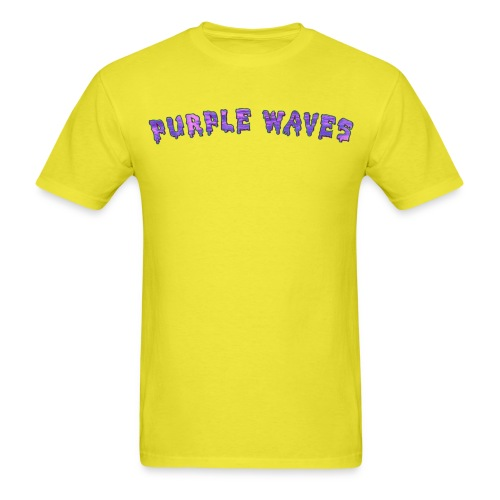 Purple Waves - Men's T-Shirt