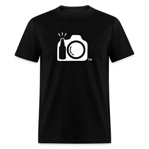 White Transparent No Initials png - Men's T-Shirt
