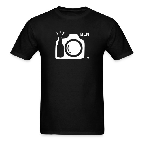 White Transparent With BLN png - Men's T-Shirt